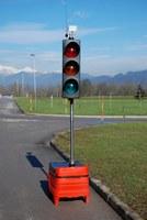 Mobile traffic light