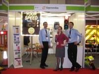 Traffex 2011 successful for Sipronika!